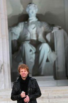 Jon Bon Jovi Photos - We Are One: The Obama Inaugural Celebration At The Lincoln Memorial - Zimbio
