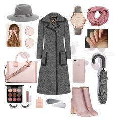 """""""The Modern Mary Poppins"""" by emilymariemann ❤ liked on Polyvore featuring A by Amara, Dolce&Gabbana, Laurence Dacade, MAC Cosmetics, Gucci, Francesca's, N°21, MANGO, HAY and FOSSIL"""