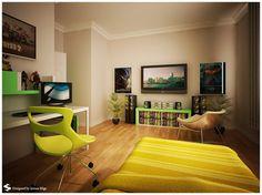 Simple Cool Room Design Ideas
