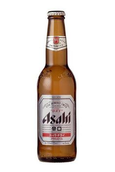 Asahi Dry. A really nice Japanase beer that is popular in Autsralia.