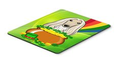 Afghan Hound St. Patrick's Day Mouse Pad, Hot Pad or Trivet BB1988MP