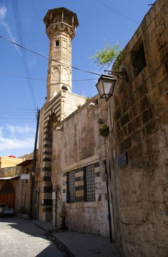 Aleppo, syria Krak Des Chevaliers, Syria Before And After, Aleppo City, Land Before Time, Indian Architecture, Beautiful Places In The World, Old City, Mosque, Middle East