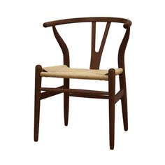 I pinned this Baxton Studio Wishbone Chair from the Lovely Living Room Accents event at Joss and Main!