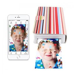 The PicKit Portable Photo Printer allows you to print photographs from your mobile device whenever and wherever you want! This printer connects to your device via the built-in Wi-Fi Access Point, NFC or Wi-Fi Direct (no router required), and lets you print your photos wirelessly using the free PicKit app. Credit card sized photograph prints can be easily stored in your wallet. Dye sublimation technology guaretees the best image quality compared to Zinc or Polaroid technology. Prints are…