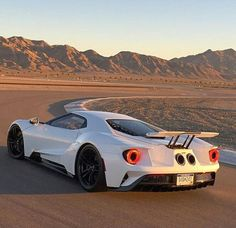 2017 Ford GT, Frozen White.    Jay Creed: No offence... But this car looks like one of the pigs in angry birds...