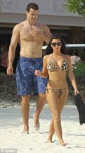 Image result for kim kardashian and kris humphries beach