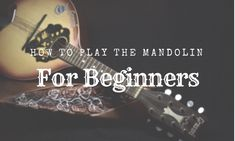 So you want to learn how to play the mandolin? For beginners to playing an instrument, the mandolin is a great option for starting your musical journey. Find out how to play with these 5 steps! Mandolin Songs, Mandolin Lessons, Violin Lessons, Music Lessons, Right Brain, Music Lovers, Music Stuff, Book Worms, Get Started