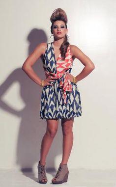 Summer Wrap dress #dress #summer #indieFashion