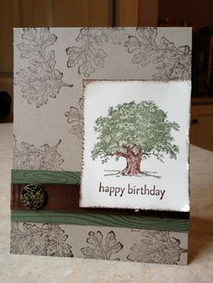 Lovely as a Tree - Catherine Loves Stamps