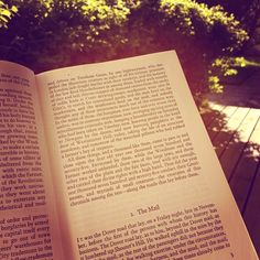 A Tale of Two Cities on the patio. Instagram photo by @iwzah http://www.penguinenglishlibrary.com/#!a-tale-of-two-cities