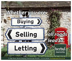Makes a good combined sales and letting flyer, popular with agents outside the major cities.