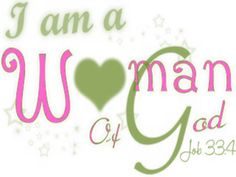 Every day is a challenge but I will always be a Woman of God. Srm