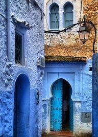 Visiter Chefchaouen Et Sa Médina Si Paisible Morocco Marrakech - Old town morocco entirely blue
