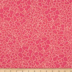 Designed by The Quilted Fish for Riley Blake, this cotton print is perfect for quilting, apparel and home decor accents. Colors include shades of pink.