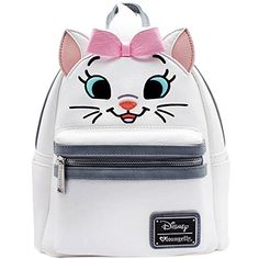 Disney Discovery- Loungefly X Disney Aristocats Marie Big Face Mini Festival Backpack