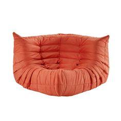 Waverunner Modular Orange Sectional Corner $450