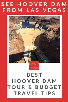 The #HooverDam is one of the top Arizona travel places to visit from #LasVegas. Add this to your Arizona travel guide: What you need to know for a Hoover Dam tour WITH budget travel tips. By @corrtravel #CORRTravel Budget Travel Tips | Travel Cheap Tips | Arizona Travel Guide | Travel Tips and Tricks | Travel Planning | USA Travel Guide | Travel Guides Solo Travel Tips, Usa Travel Guide, Budget Travel, Travel Usa, Travel Ideas, Hoover Dam, International Travel Tips, Arizona Travel