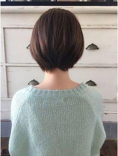 Tomboy Haircut, Tomboy Hairstyles, Hairstyles Haircuts, Short Hair Styles Easy, Short Hair Cuts, Korean Short Hair, Brunette Bob, Corte Bob, Hair Looks