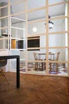 appartamento residenziale a Milano Milano, Shelving, Home Decor, Shelves, Shelving Racks, Interior Design, Home Interior Design, Shelf, Home Decoration