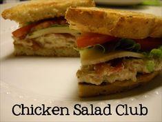 chicken salad club