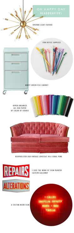 Our New Studio Inspiration | Oh Happy Day!