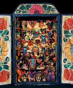 Peruvian retablos