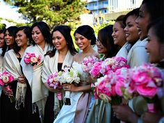 Wedding bouquets by Petalworks, Northern CA.