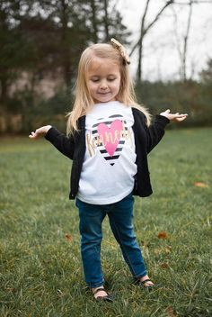 Kids Valentines shirt girls valentines day shirt valentines
