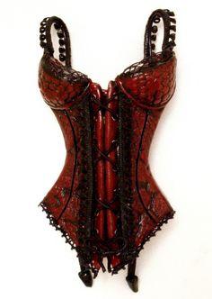 corset sculpture