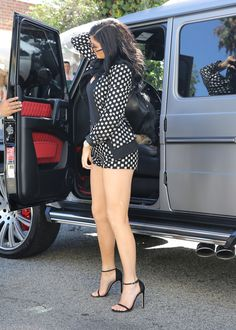 Kylie Jenner at the going to The Ivy restaurant, Los Angeles (26 July, 2015)