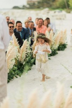 Boho Beach Wedding at La Playa Beach and Golf Resort | Junebug Weddings