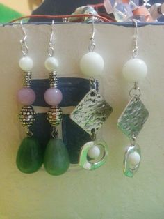My self-made earrings