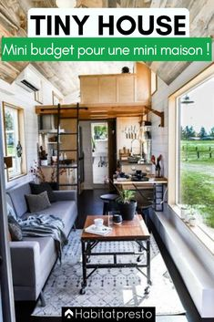 Tiny houses seem to break all the rules, and yet, the tiny house movement is really taking off! Home Living, Tiny Living, Small Space Living, Small Spaces, Living Room Decor, Tiny Houses For Rent, Modern Tiny House, Tiny House Plans, Tiny House Company