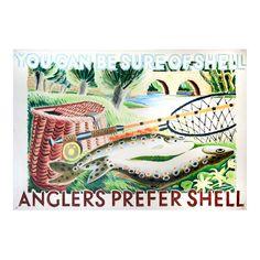 Original Clifford & Rosemary Ellis Shell poster