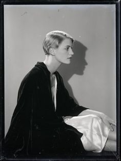 Lee Miller, 1930 by Man Ray