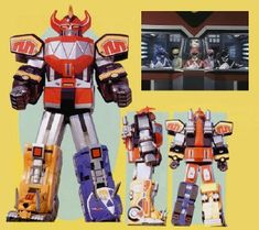 Dinozords - Mighty Morphin Power Rangers | Power Rangers Central