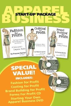 33a83b3c439 Fashion Business Start Up Package by Frances Harder