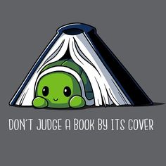 Don't Judge a Book by Its Cover T-Shirt on TeeTurtle #wishlist