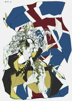 Female Iceland - Hetalia Nordics