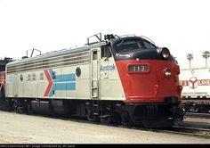 (FP7A).  AMTRAK #113.  Former Southern Pacific locomotive.