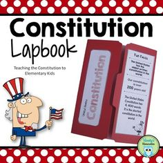 Are you looking for a novel way to study the U. Do you need an activity for Constitution Day? This lapbook activity was designed for elementary students. The purpose is to provide a basic understanding of the Constitution. Education English, Elementary Education, Teacher Hacks, Teacher Pay Teachers, Social Studies Notebook, Constitution Day, Good Day Song, Fun Activities For Kids, Educational Technology