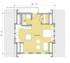 Garage Apartment Floor Plans Do Yourself the amusing picture below, is other parts of 1 bedroom luxury