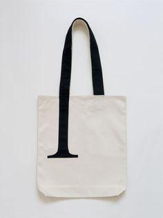Serif canvas bag!