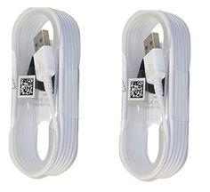 awesome Dos (2) nuevo OEM 1,5Cables Micro USB de sincronización de datos de carga para Samsung Galaxy S6/S6Edge/S6Edge +/S7/S7edge/Note 4/5, Edge–Embalaje–Blanco