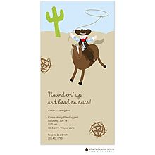 Cowboy Invitations from RockPaperScissors