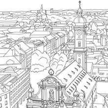 BRANDENBURG GATE in Berlin coloring page | Art It | Pinterest ...