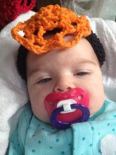 Infant Crochet Headbands= Halloween