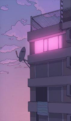 Imagen de pink, anime, and light anime art, aesthetic art, aesthetic anime Uicideboy Wallpaper, Anime Scenery Wallpaper, Aesthetic Pastel Wallpaper, Aesthetic Backgrounds, Aesthetic Wallpapers, Pink Wallpaper Anime, Aesthetic Japan, Purple Aesthetic, Aesthetic Art