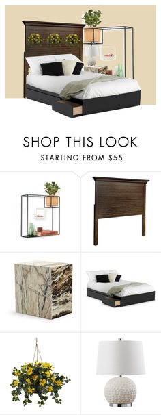 """""""Flower Gleam and Glow"""" by amloyal on Polyvore featuring interior, interiors, interior design, home, home decor, interior decorating, Pier 1 Imports, Mitchell Gold + Bob Williams, Nexera and Nearly Natural"""