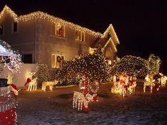 Christmas lights, Queens, NYC by jane_sanders, via Flickr